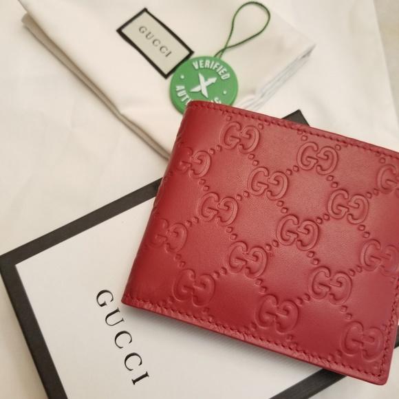 6bdc41100c6d17 Gucci Accessories | Red Signature Wallet | Poshmark